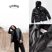 【Stampd' LA】日本未入荷☆最新☆LEATHER HOODED COACH JACKET