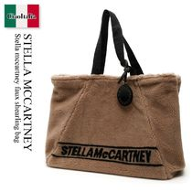 Stella mccartney faux shearling bag