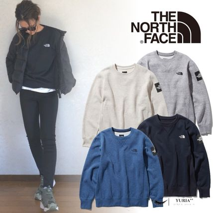 THE NORTH FACE スウェット・トレーナー 【THE NORTH FACE】Square Logo Crew 裏起毛