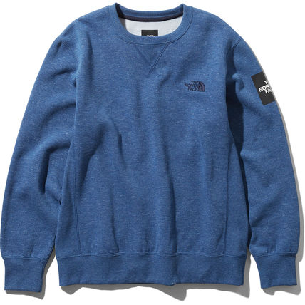 THE NORTH FACE スウェット・トレーナー 【THE NORTH FACE】Square Logo Crew 裏起毛(5)