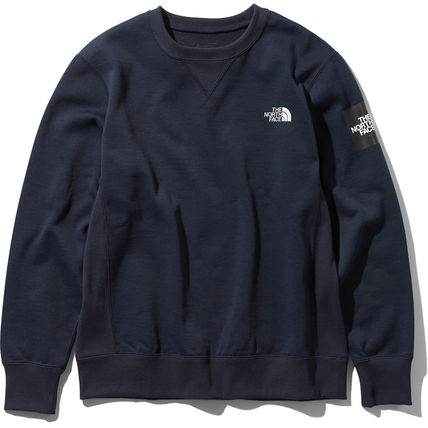 THE NORTH FACE スウェット・トレーナー 【THE NORTH FACE】Square Logo Crew 裏起毛(7)