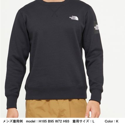 THE NORTH FACE スウェット・トレーナー 【THE NORTH FACE】Square Logo Crew 裏起毛(11)