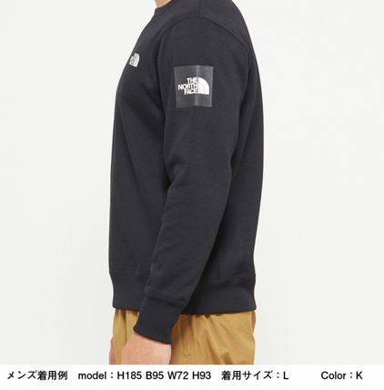 THE NORTH FACE スウェット・トレーナー 【THE NORTH FACE】Square Logo Crew 裏起毛(12)
