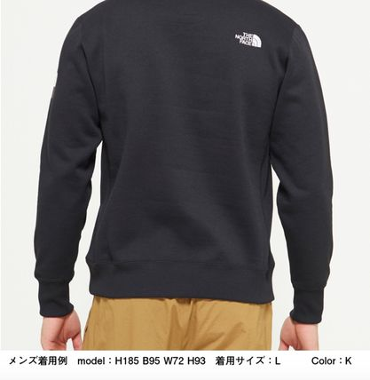 THE NORTH FACE スウェット・トレーナー 【THE NORTH FACE】Square Logo Crew 裏起毛(13)