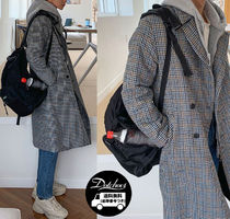 ASCLO Hound's Tooth Checked Double Coat MU1019 追跡付