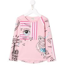 【KENZO KIDS】プリントTシャツ ピンク【国内発送★関税込み】