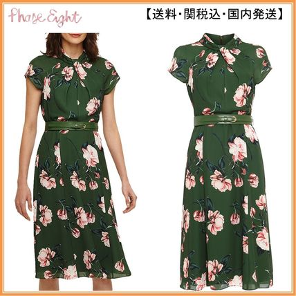 Phase Eight ワンピース 【関税込】Phase Eight ワンピース☆Helena Floral Belted Dress