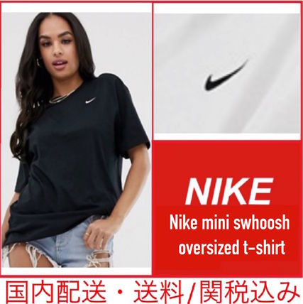 Nike ワンピース 【セール/国内発送】Nike mini swoosh oversized t-shirt