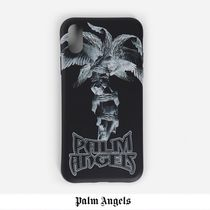 [Palm Angels] iPhoneX/XS/XR ロゴ スマホケース