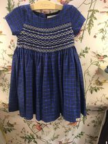 AW19 BONPOINT☆FILLEワンピースDUCHESSE BLUE6.8A