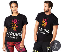 STRONG BY ZUMBA Instructor Tee (Bold Black)