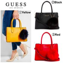 【GUESS】●大人気バッグ●DEBORA FAUX-LEATHER SATCHEL