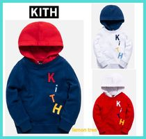 【19-20AW】KITH  キッズ・フーディー  ロゴ入り3色