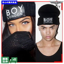 国内発送 BOY LONDON  BOY LONDON PATCH BEANIE ビーニー 関送込