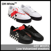 【Off-White】Low Vulcanized sneakers OMIA085F19D68001