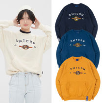 ROMANTIC CROWN★トレーナー RMTCRW LOGO POCKET SWEATSHIRT 4色