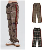 日本未入荷ROMANTIC CROWNのOLD CHECK SLACKS 全2色