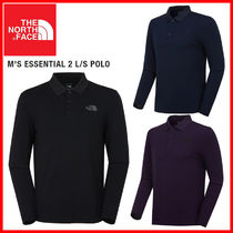 THE NORTH FACE★M'S ESSENTIAL 2 L/S POLO_NT7QK52