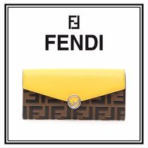 【FENDI】F Is Fendi Continental Wallet