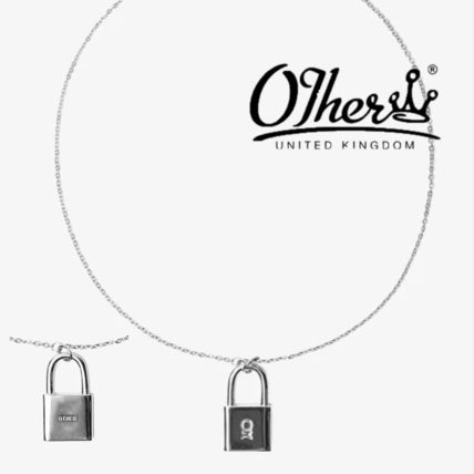 Other UK ネックレス・チョーカー 【Other UK】MICRO XS PADLOCK CHAIN 南京錠チェーン