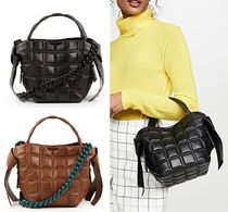 Acne Musubi QUILTED leather bag 結び キルトレザーバッグ 2色