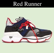 Christian Louboutin Red Runner スニーカー