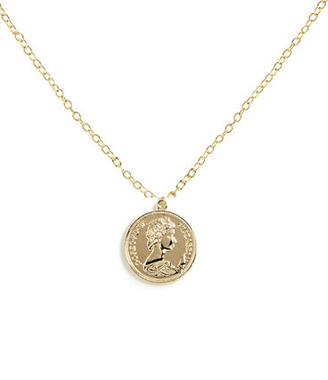 Ron Herman ネックレス・チョーカー 関税☆送込【Ron Herman 取扱】Baby Medallion Coin ネックレス(2)