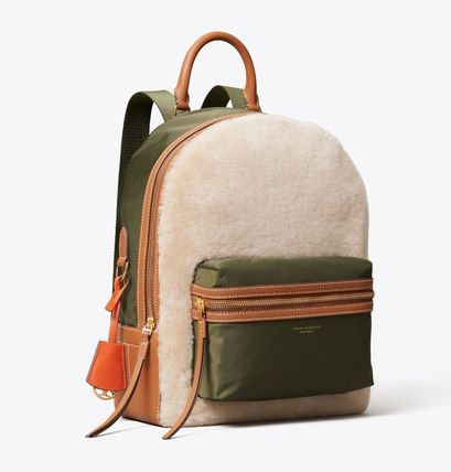 Tory Burch バックパック・リュック Tory Burch PERRY SHEARLING BACKPACK