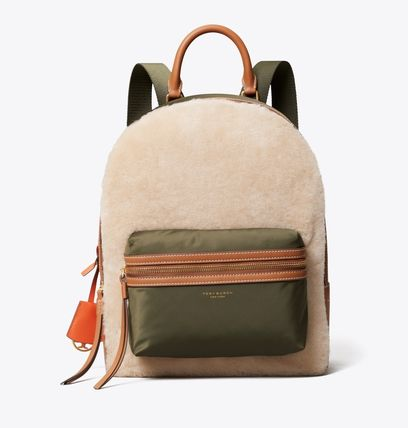 Tory Burch バックパック・リュック Tory Burch PERRY SHEARLING BACKPACK(2)