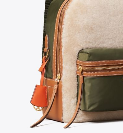 Tory Burch バックパック・リュック Tory Burch PERRY SHEARLING BACKPACK(3)