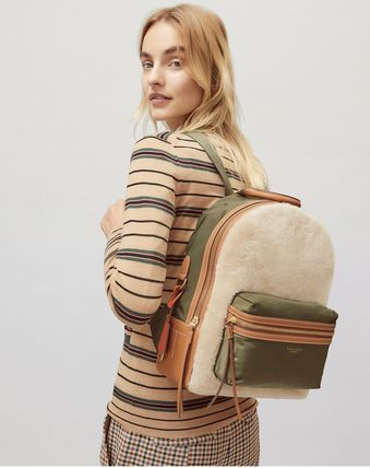 Tory Burch バックパック・リュック Tory Burch PERRY SHEARLING BACKPACK(5)