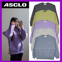 [ASCLO]  SEWING SWEATSHIRTS (5 color) - UNISEX / 追跡付