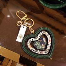 2019 NEW♪ Tory Burch ★ HEART SPINNER KEY FOB