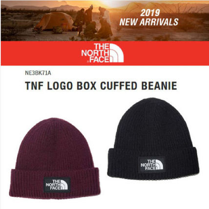 [THE NORTH FACE]★19FW★LOGO BOX CUFFED BEANIE_NE3BK71★2色