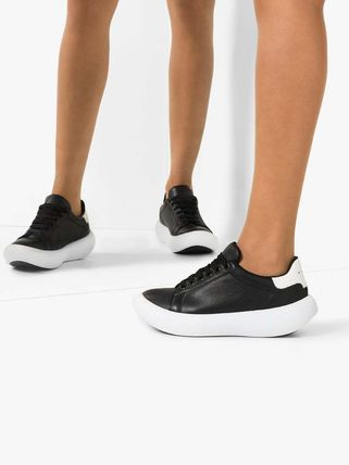 MARNI スニーカー 関税込◆ black leather low top sneakers(3)