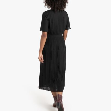 LA Redoute ワンピース La Redoute★Pleated and Buttoned Long Dress(3)