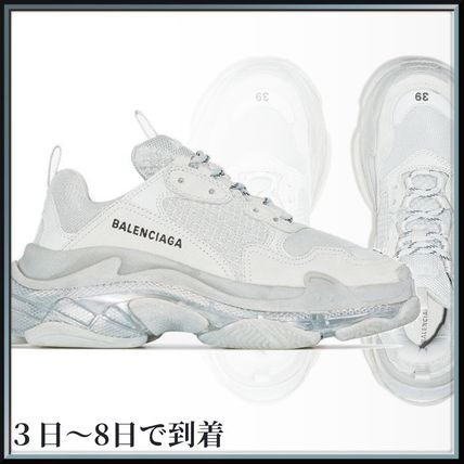 BALENCIAGA スニーカー 関税込◆ grey Triple S low top sneakers