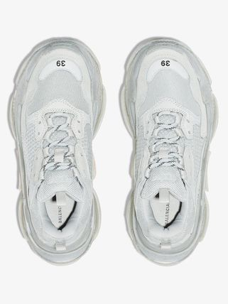 BALENCIAGA スニーカー 関税込◆ grey Triple S low top sneakers(5)