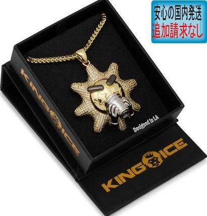 King Ice ネックレス・チョーカー LA発ストリート☆King Ice☆HipHopペンダントChief Keef-Glo Cup