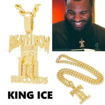 送料込☆King Ice x Death Row Records☆ネックレス*14Kゴールド