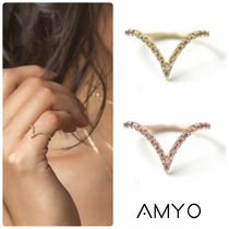 【AMY O】Pave Chevron Ring 指輪★日本未入荷★