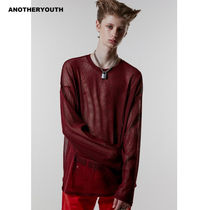 ANOTHERYOUTH(アナザーユース) ニット・セーター ANOTHERYOUTH正規品★19AW★メッシュニット★UNISEX
