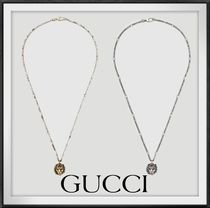 [ GUCCI ] 大人気★Necklace with lion head pendant★直営店