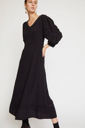 NO.6/Beatrice Dress in Black Rayon ワンピース!!