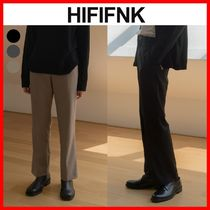 ★韓国の人気★【HI FI FNK】★Semi Wide Trousers★3色★