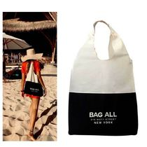 Bag all(バッグオール) エコバッグ 即納Bag-allバックオールTote Two Tone ツートントートバック