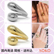 【SOKO(ソコ)】リング☆TWISTED DASH RING
