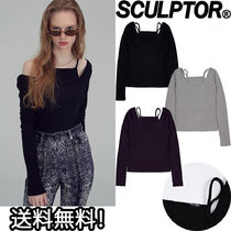 SCULPTOR(スカルプター) Tシャツ・カットソー 日本未入荷 新作 [SCULPTOR] LAYERED LS TOP 3色 トップス カットソー