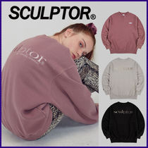 〜SCULPTOR〜 Gradation Retro Sweatshirt 全3色 グラデトレ-ナ-