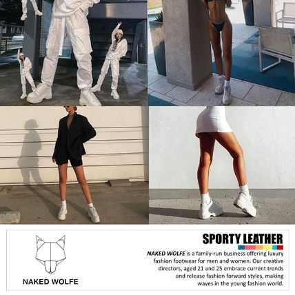 Naked Wolfe スニーカー 【NIKE】日本未入荷★naked wolfe★Sporty Leather 3 clolors(3)